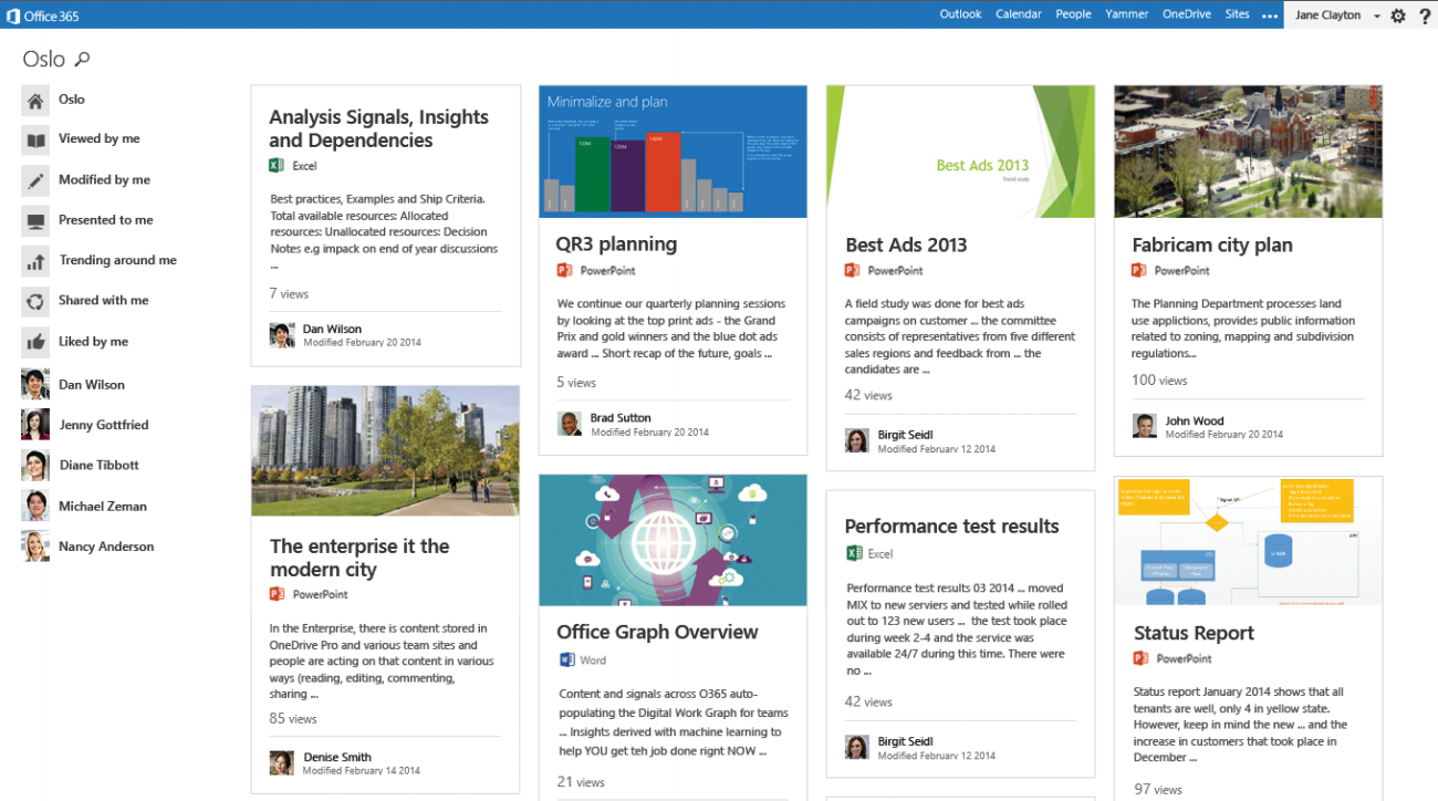 sharepoint delve